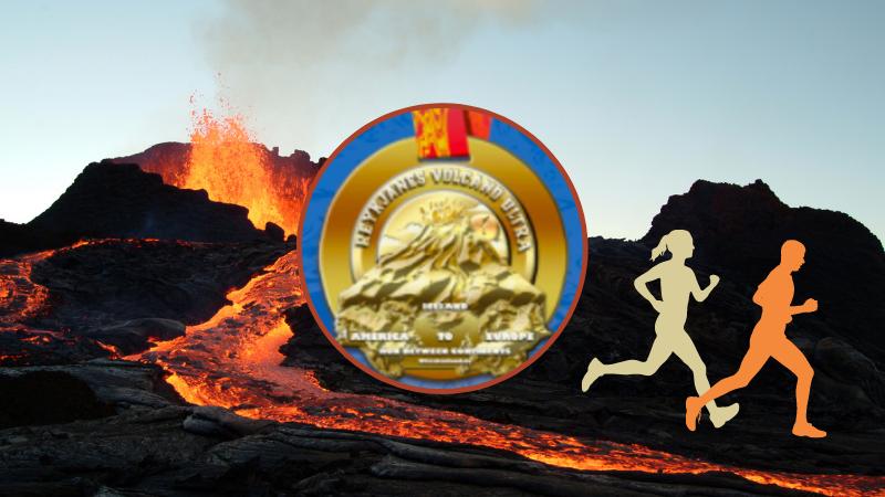 Mynd fyrir Reykjanes Volcano Ultra fer fram í Grindavík á sunnudag