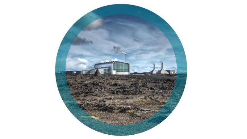 Mynd fyrir Deiliskipulag orkuvinnslu og iðnaðar á Reykjanesi í Grindavíkurbæ