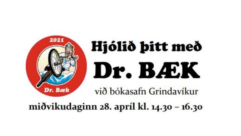 Mynd fyrir Dr. Bæk á bókasafninu!