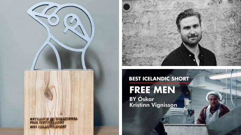 Mynd fyrir Óskar Kristinn vinnur RIFF verðlaun fyrir Frie mænd