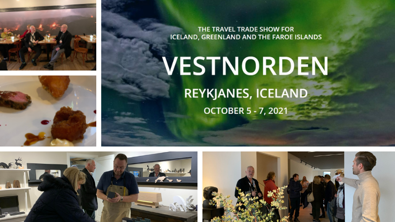 Mynd fyrir Gestir Vestnorden heimsóttu Grindavík