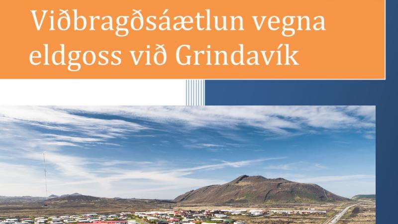 Mynd fyrir Almannavarnir og náttúruvá: tengill á vefsíðu