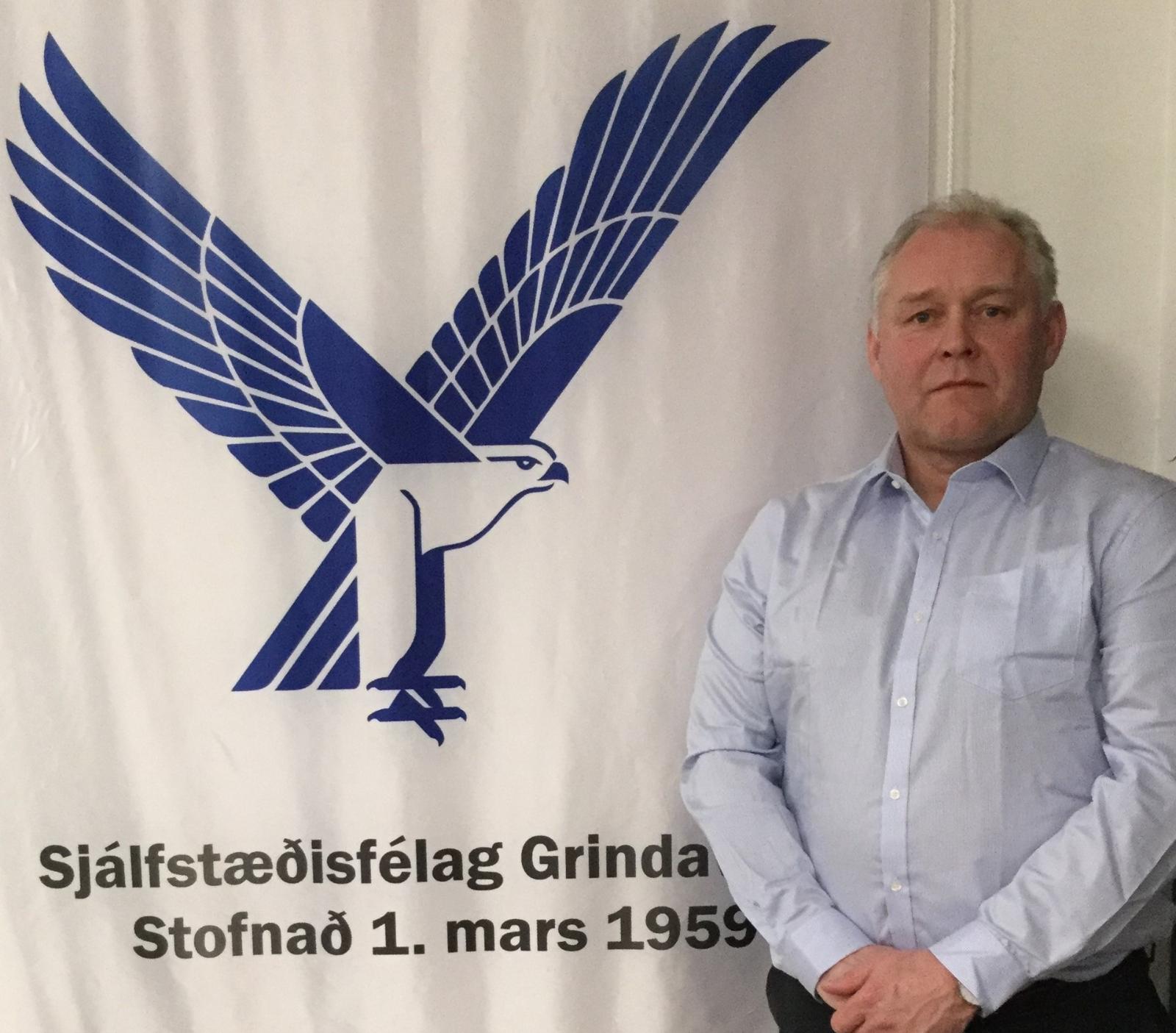 Sjálfstæðisfélag Grindavíkur 60 ára í dag og Hjálmar nýr formaður