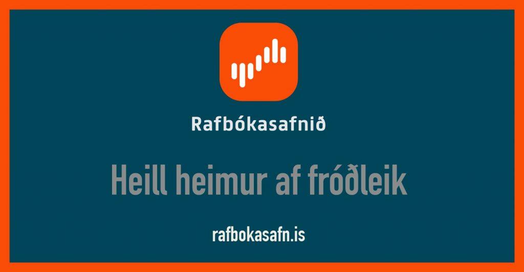 Rafbókasafnið er komið!