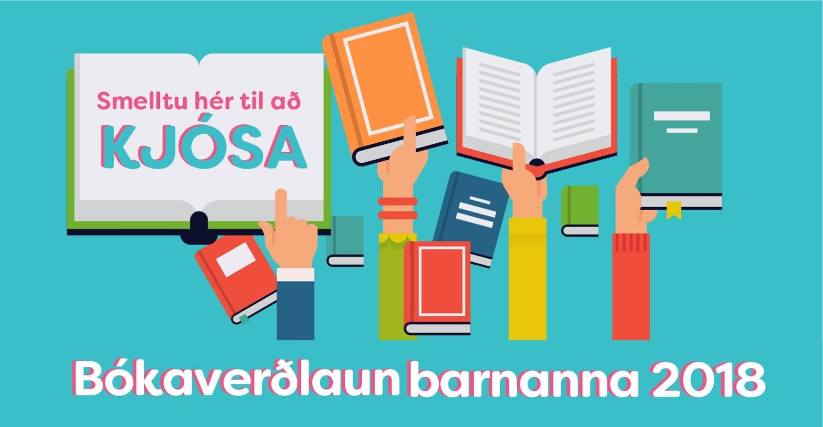 Mynd fyrir Bókaverðlaun barnana 2018