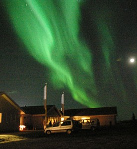 Northen lights Grindavik