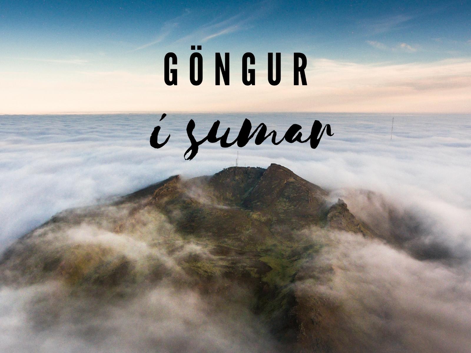 Mynd fyrir   Göngur í sumar - Hópsneshringur