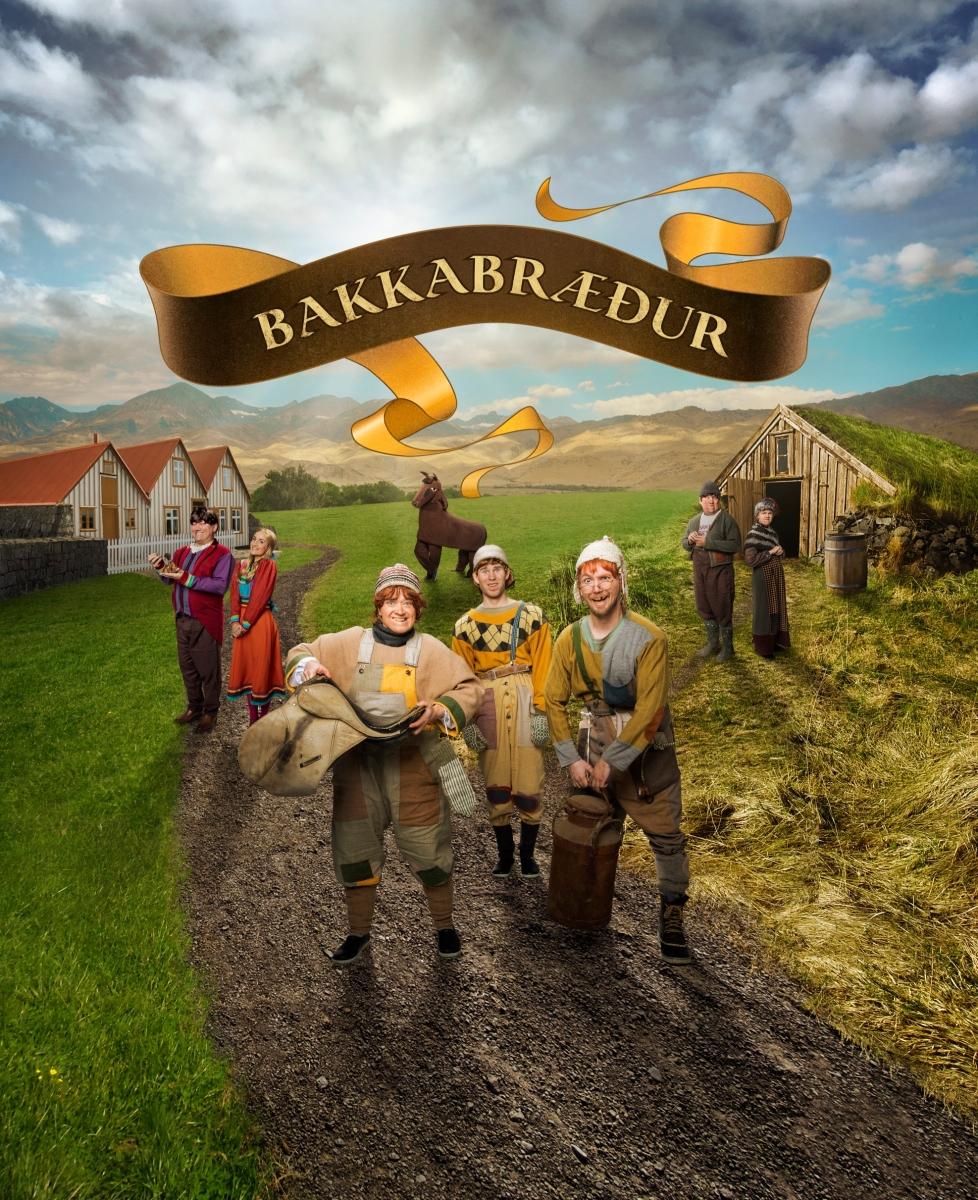 Mynd fyrir Leikhópurinn Lotta sýnir Bakkabræður í Grindavík