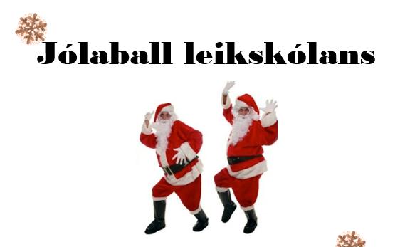 Mynd fyrir Jólaballið er í dag !!!