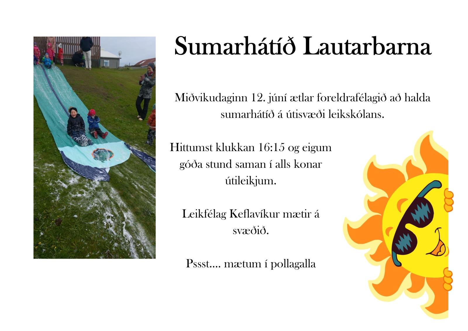 Mynd fyrir Sumarhátíð Lautarbarna
