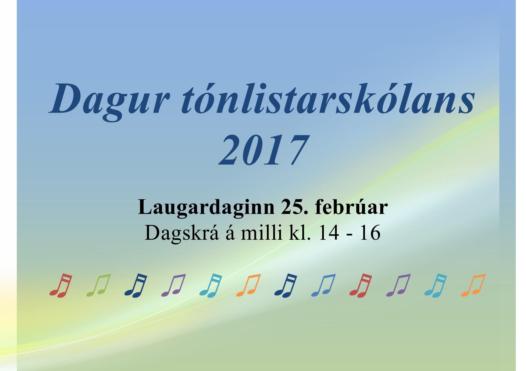 Dagur Tónlistarskólanna - Dagskrá Tónlistarskólans í Grindavík
